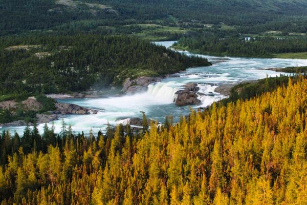 Koroc river, Kuururjuaq national park, Nunavik, Quebec, Canada