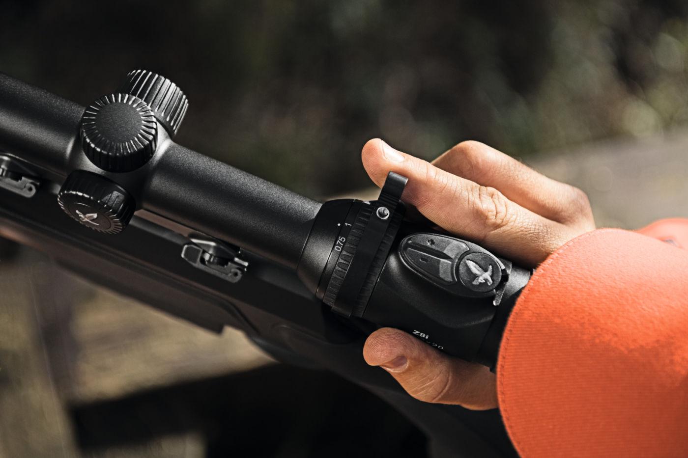 Z8i 0,75-6x20 Close up on riffle scope