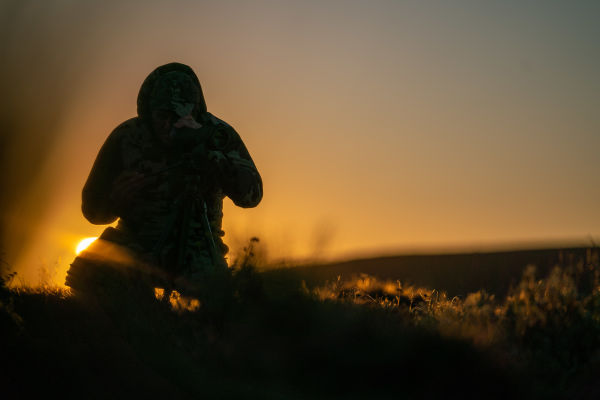 Winterberg hunt sunset