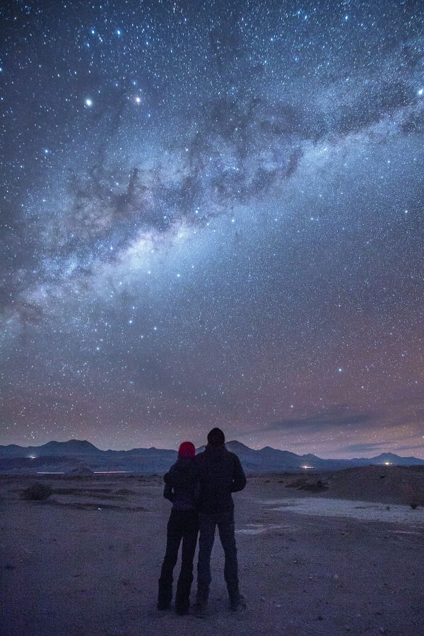 Atacama milky way, light, stars landscape ID:1230583