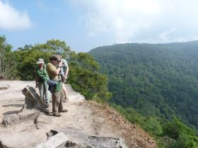 Khao Yai - Some of the best birding at Khao Yai is done at viewpoints