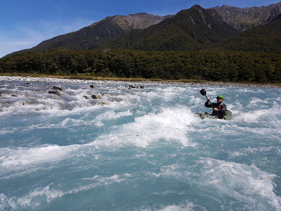 Wolfgang Schwarz rafting in New Zealand 20171220_115401