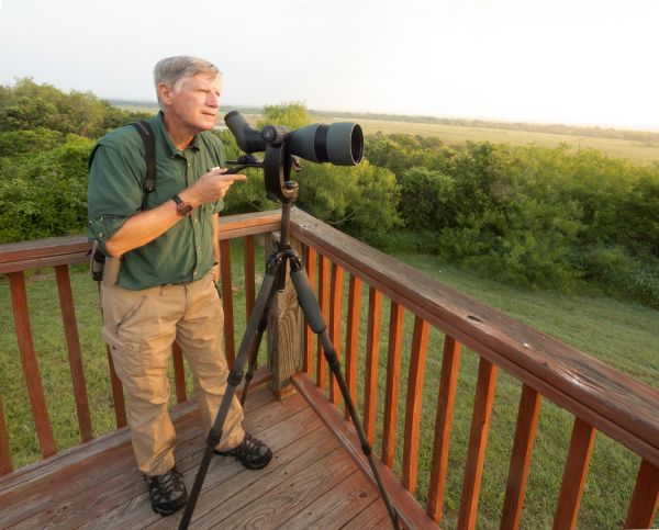 Clay Taylor took the SWAROVSKI OPTIK 115-mm objective module to Hazel Bazemore Park, Texas