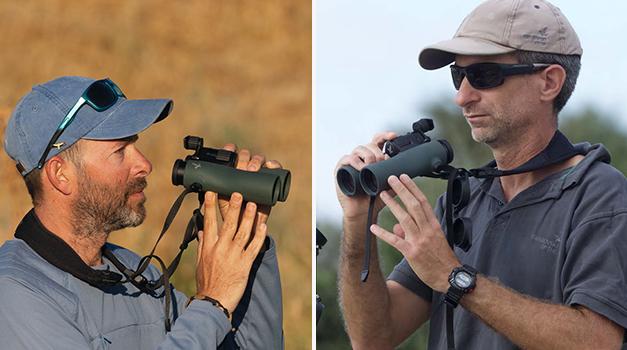 Among experts: Jonathan Meyrav und Yoav Perlman trying the brand-new NL Pure 12x42 - main image