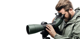 BTX spotting scope zoom and focus with just one hand ID 933524