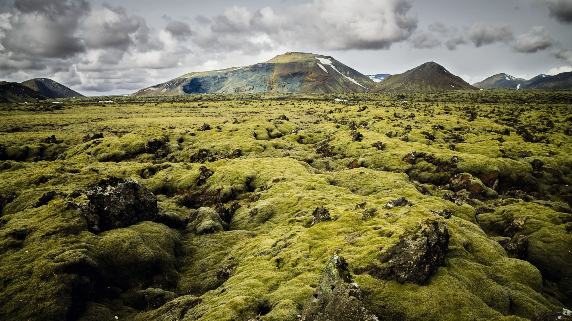 Iceland Hunters landscape mountains