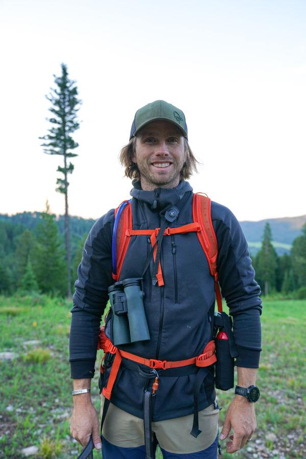 !!! Charles Post with the NL Pure binoculars - Montana Summer 2021