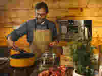 The ingenuity of a hunter and chef - Nikolaj Juel Recipe: Jamaican Chamois Curry - pot, cooking