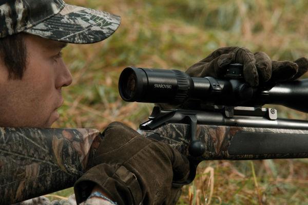 Z6 hunter turret setting closeup