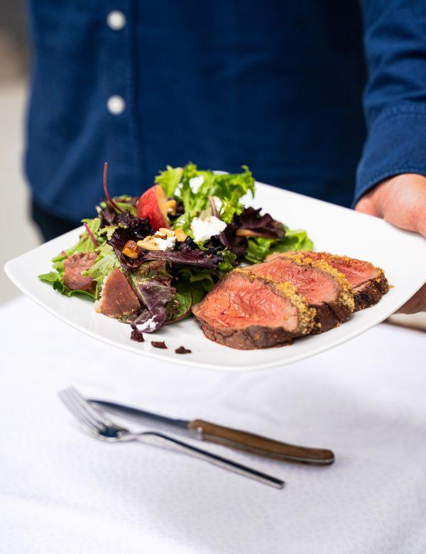 !!! Rezept: #wild2table - Deer roast with crumble crust H/ - PRO TIP  (c) Yannis Labdaoui