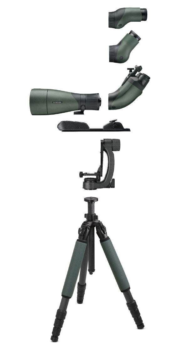 Objective module 115 tripod combination