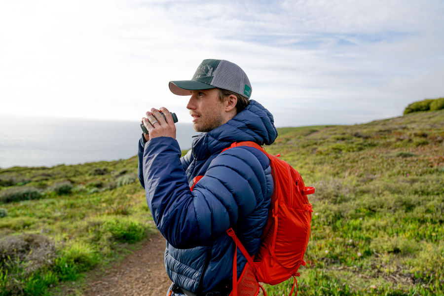Out and about in the Marin Headlands, San Francisco O/ - Charles Post ready to take a look through the CL Pocket