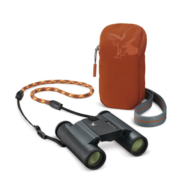 CL Pocket Mountain field bag orange and carrying strap ID 954416