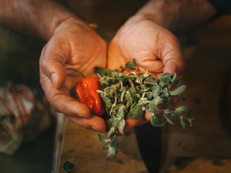 The ingenuity of a hunter and chef - Nikolaj Juel, Jamaican Chamois Curry - spices