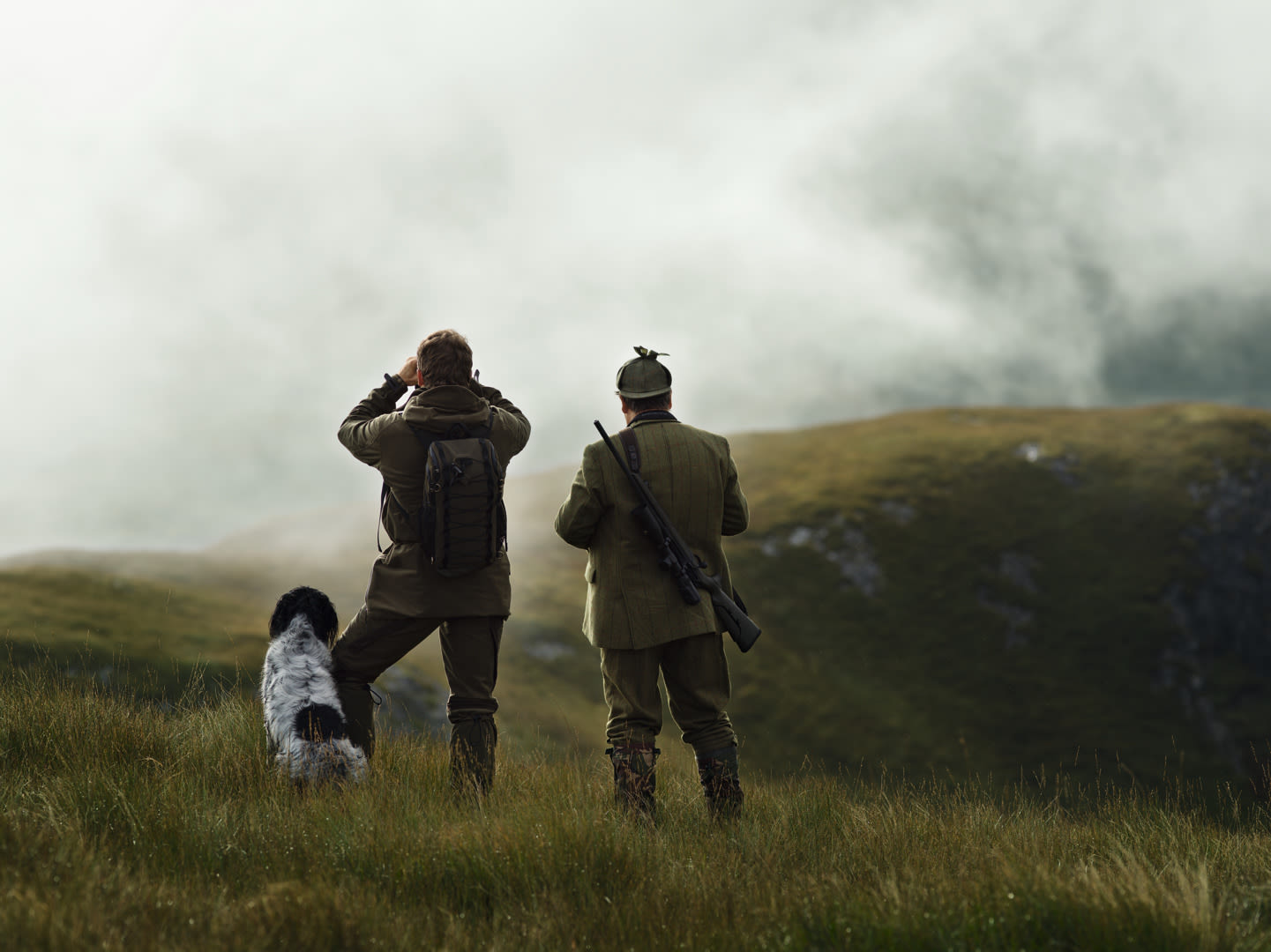 Swarovski Optik dS Isle of Mull – the ultimate challenge for hunters, hunting dog, two men