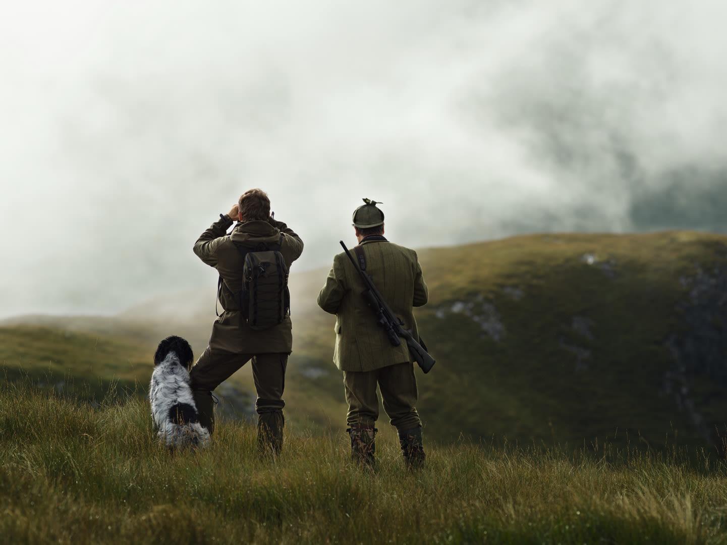 Swarovski Optik dS Isle of Mull – the ultimate challenge for hunters, hunting dog, two men