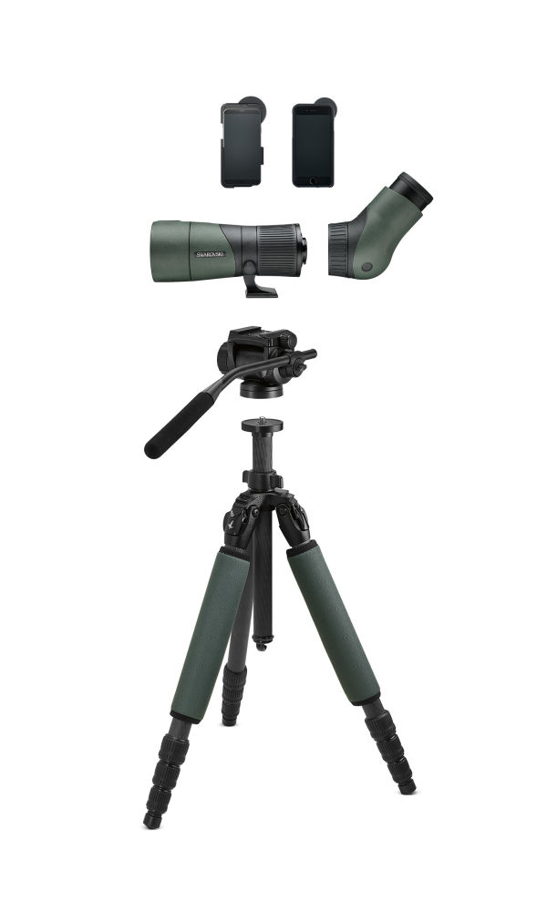 The tripod package CCT and CTH ensures a firm footing.