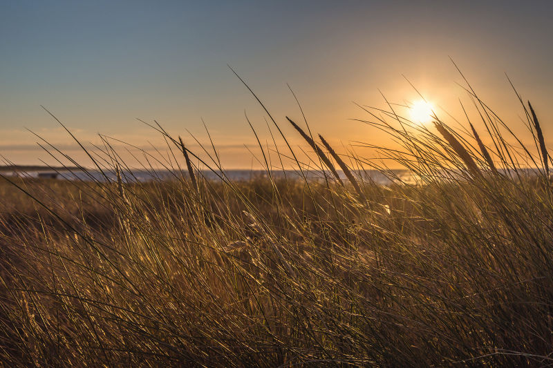 Sunset at the Baltic Sea landscape light ID:1399377