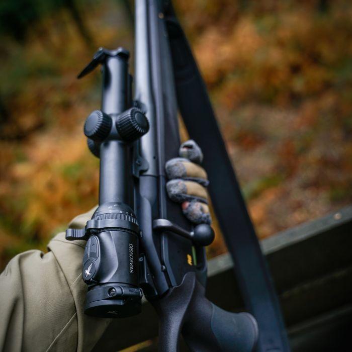 Driven hunting with the Z8i 0.75-6x20 - Stefaan Rothier SWAROVSKI OPTIK Z8i 0.75-6x20