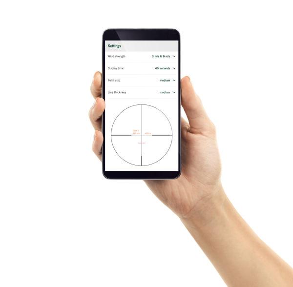 dS Phone App display