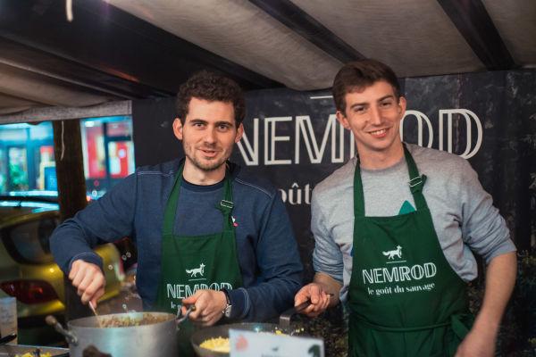 About the founders of Nemrod: Edouard & Vianney © Yannis Labdaoui
