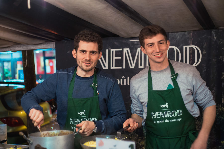 !!! Nemrod -  French wilderness on your plate H - About the founders of Nemrod: Edouard & Vianney © Yannis Labdaoui