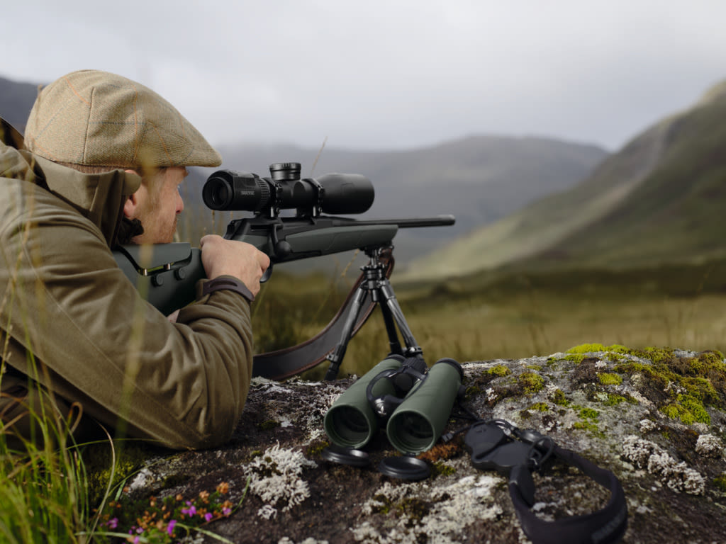 Swarovski Optik long-range shooting, Scotland dS Riflescope Landscape