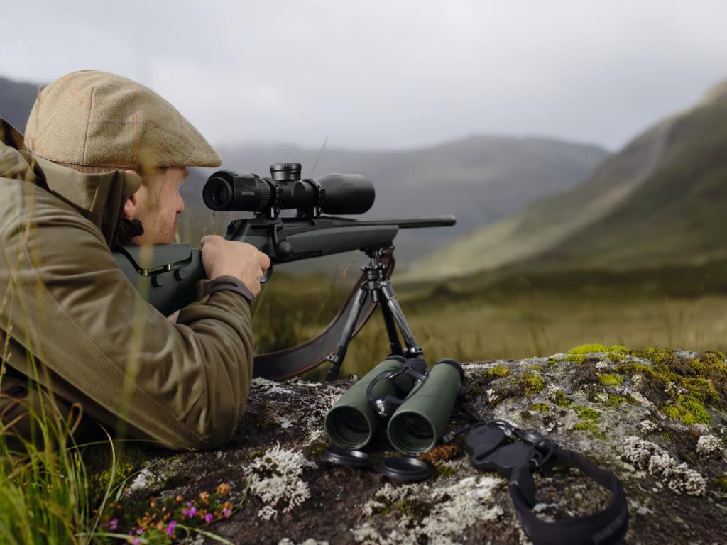 Swarovski Optik long-range shooting, Scotland dS Riflescope Landscape