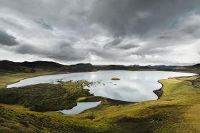 Iceland Hunters landscape lake