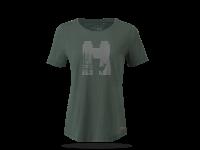 K21 TSD T-Shirt Deer wm green front Web RGB