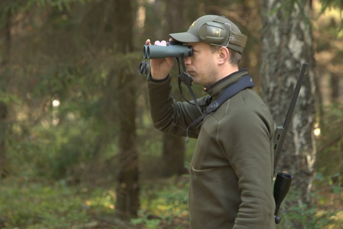 Hunting red deer in Poland - Adam