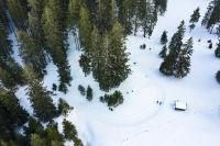 Wood ans snow
