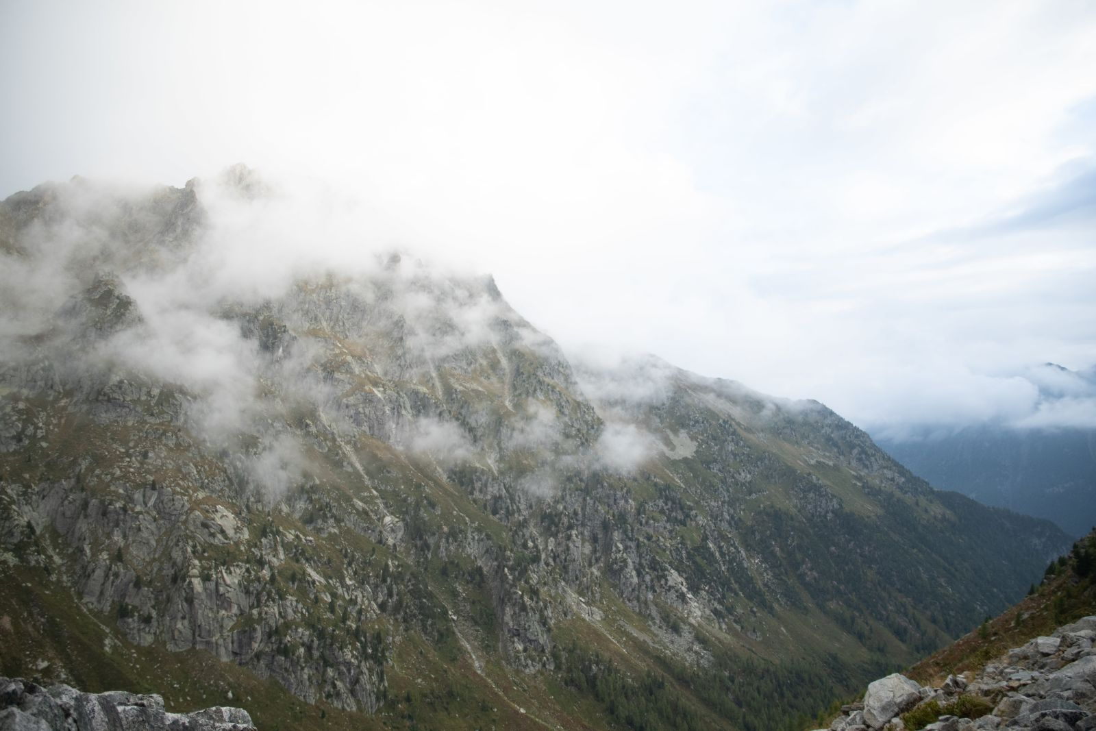 Hunting chamois with the EL Range TA in the Swiss Alps, landscape mountains