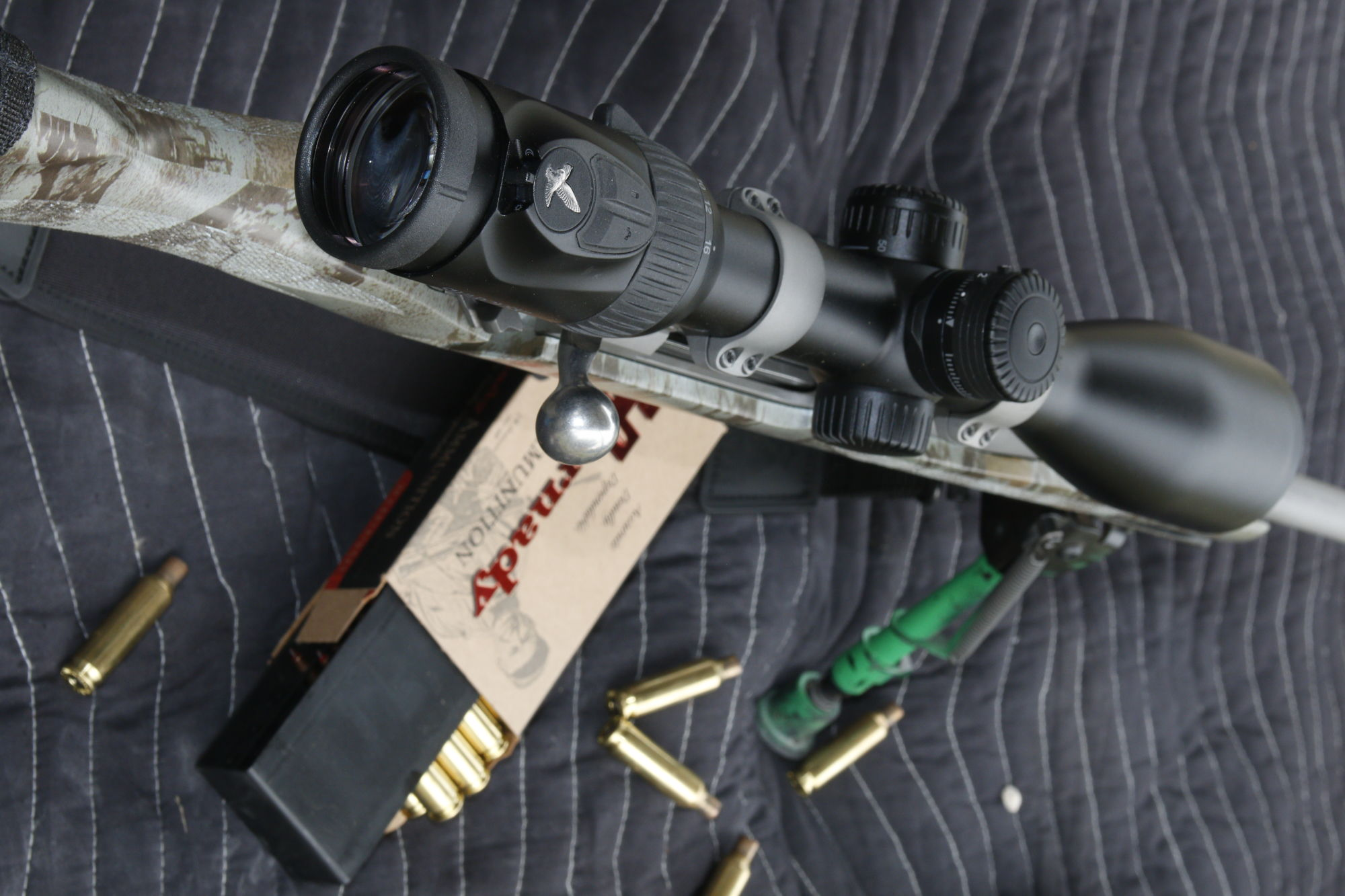 Boom. Clang. – Ron Spomer's experiences during shooting training - SWAROVSKI OPTIK rifle scope