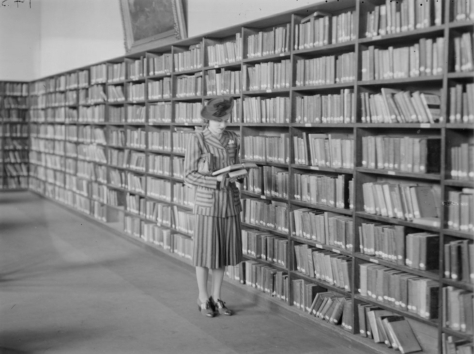 Browsing-in-the-library