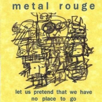 Metal Rouge album cover.