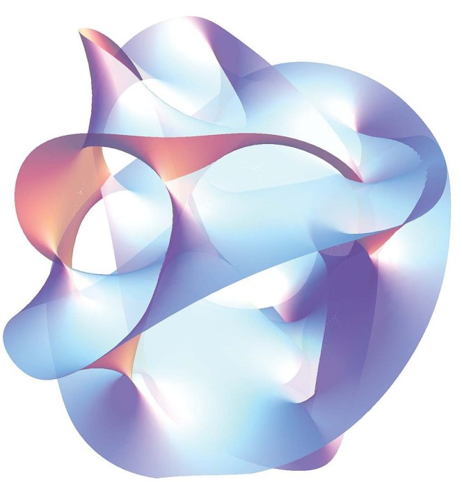 An visual depiction of an element of string theory. I can't help you any more than that.