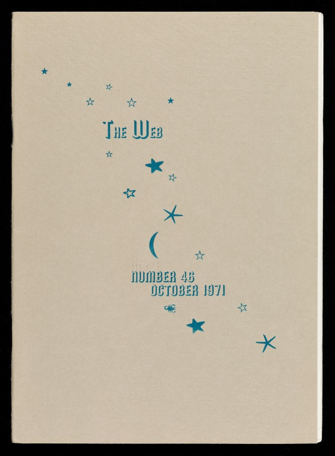 Cover of the web, illustrated with stars and a crescent moon.