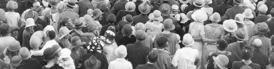 Crowd scene.