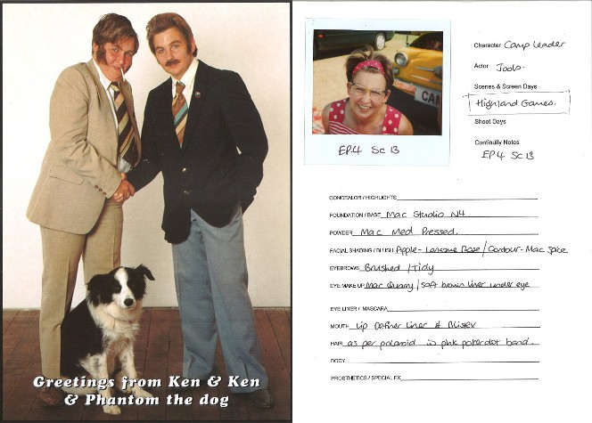 Publicity postcards featuring Jools and Lynda Topp as 'Ken and Ken'.