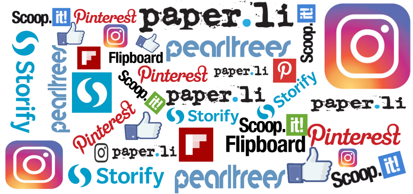 Names of tools used for content curation