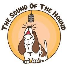 The sound of the hound podcast logo.