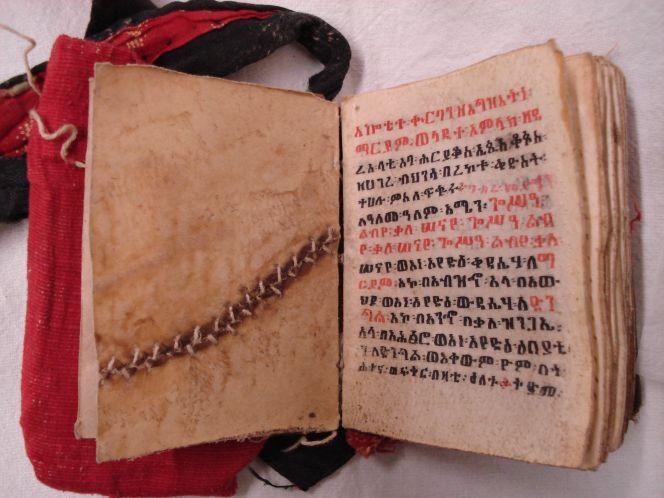 Liturgical book of the Ethiopian Church.