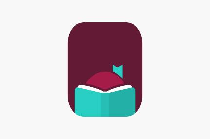 Logo for Libby app.