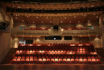 John Dalton Theatre — the main auditorium of the Turner Centre.