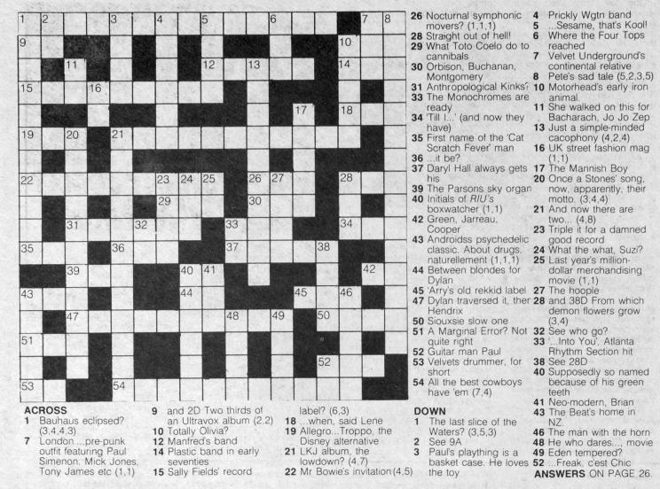 music-crossword-puzzle-1983