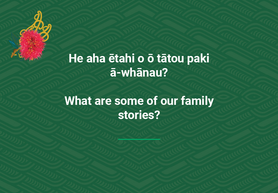 What are some of our family stories?  [Our family stories](/files/schools/hm33-our-family-stories-english.mp3)
