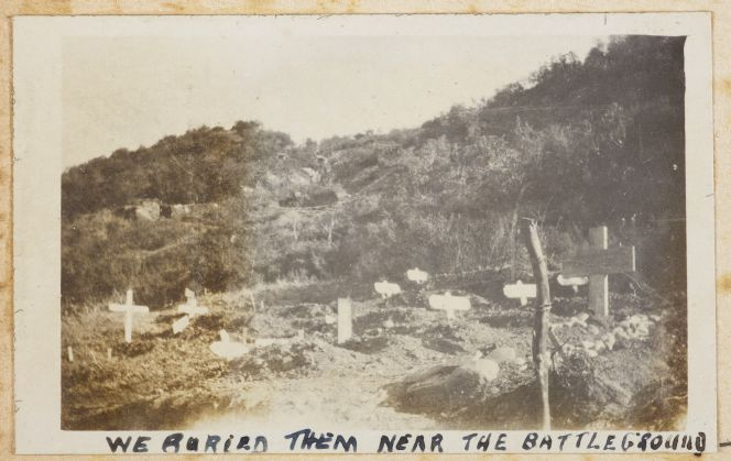 Battleground where New Zealanders sent to Gallipoli are buried.