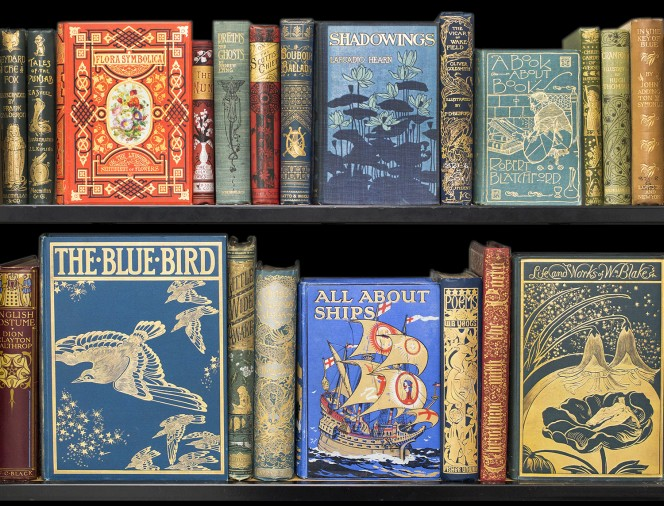 Selection of publishers' bindings from the Turnbull General Collection.