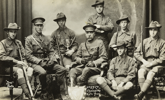 William Clachan, 2nd from left.